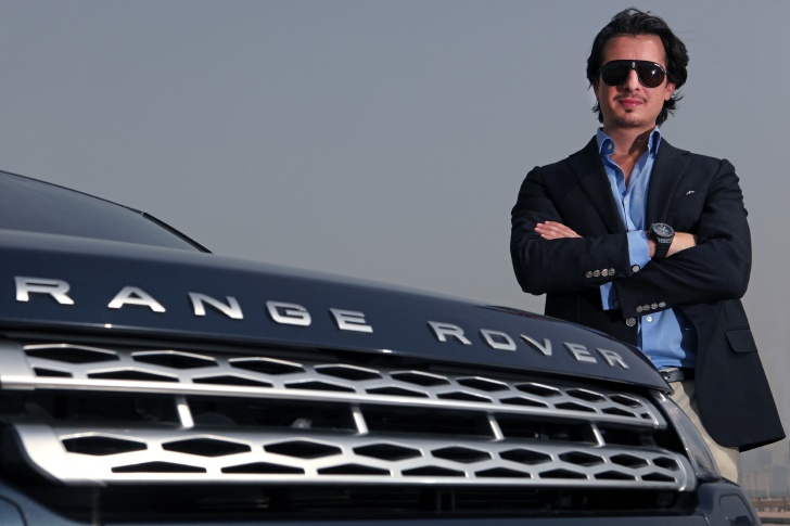 Director Ali F. Mostafa Brand Ambassador for the New Range Rover Evoque