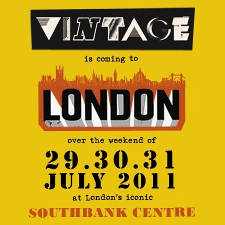 3 Day London Summer VINTAGE Festival