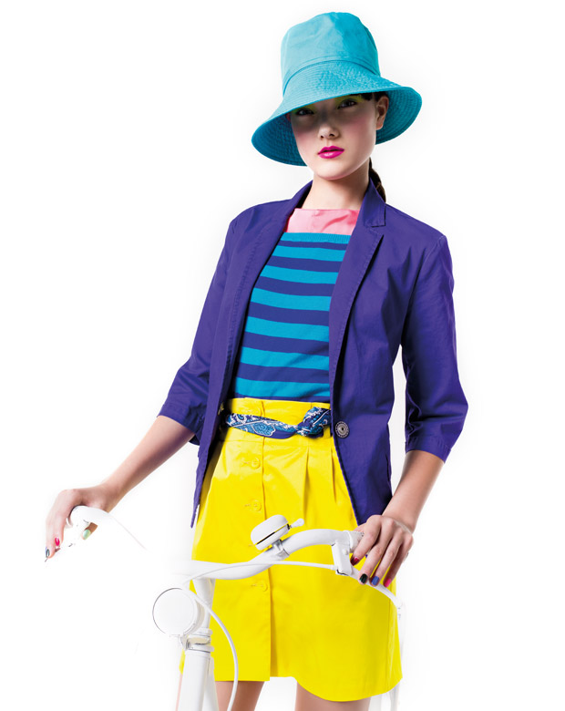 Colours that go POP with Benetton S/S12