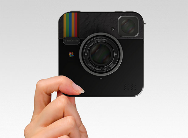 Instagram Camera from Digital Concept to Physical Reality!