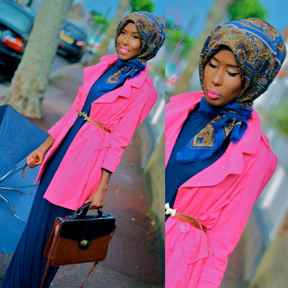 hijab style inspiration basma k maramostafa