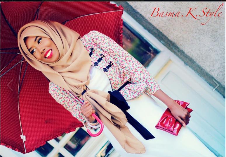 Hijab style inspiration- Basma K