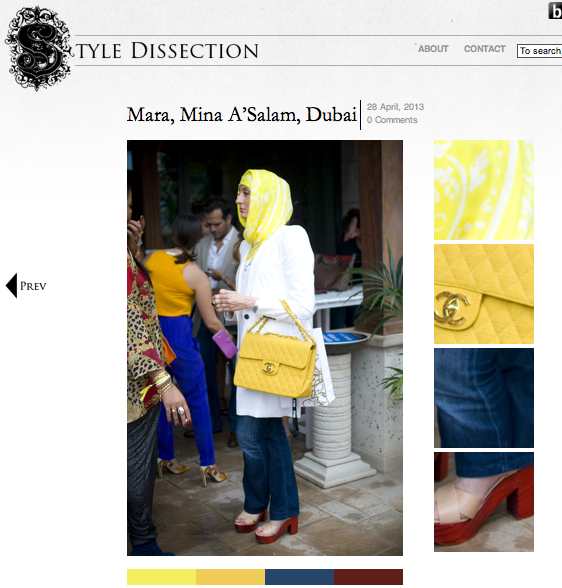 Captured Street Style by Fashion Blogger- The Style Dissection April 2013 @ Fashion Forward season1