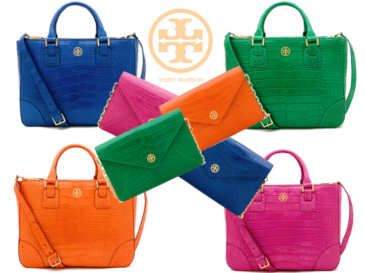 The Tory Burch Alligator Collection