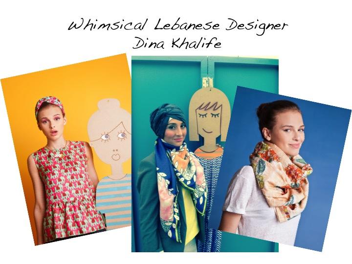 Whimsical Lebanese Designer Dina Khalife