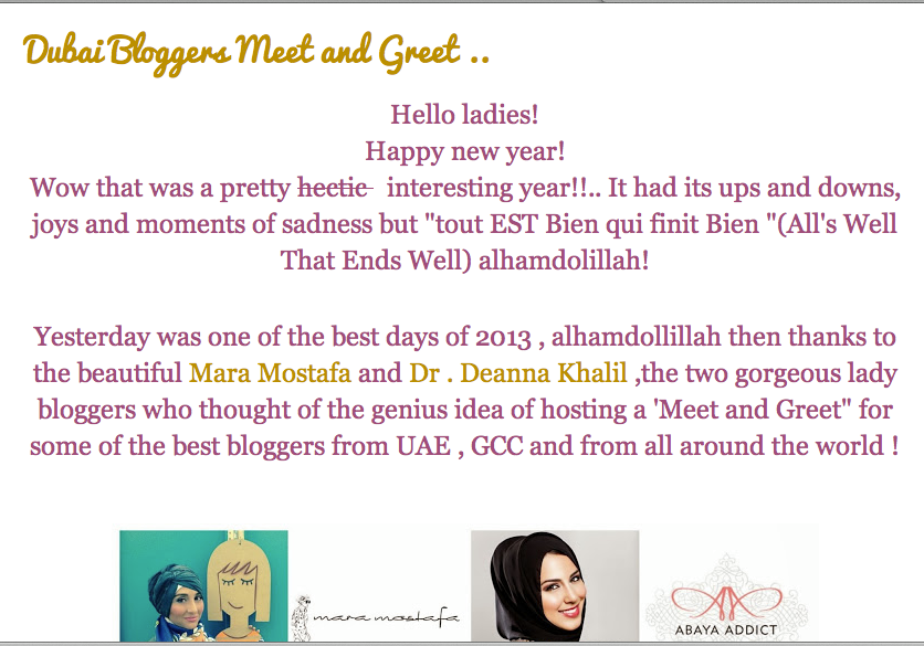 Featured in: In Her Abaya Blog- DEC 2013