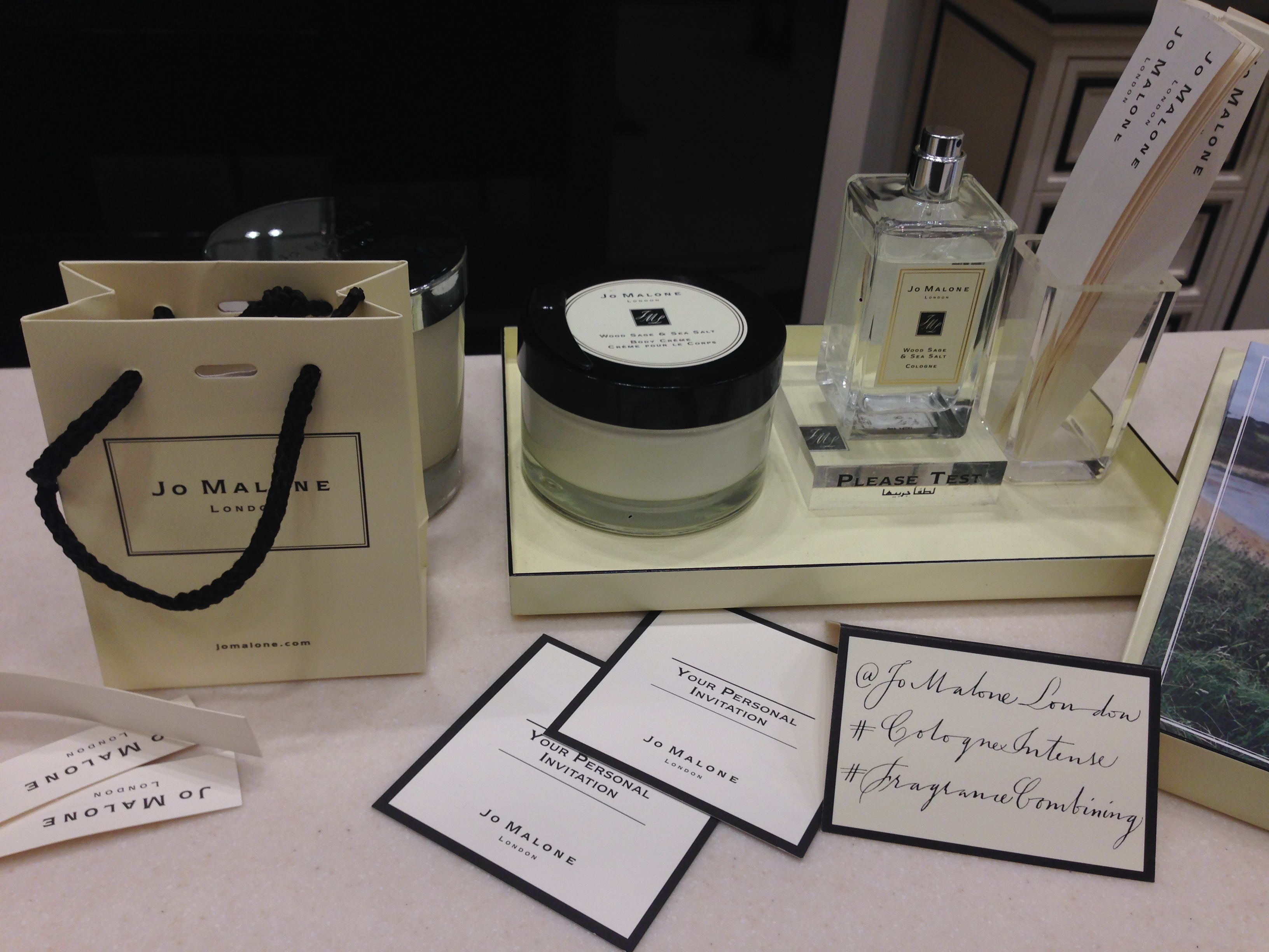 Fragrance Combining at Jo Malone London